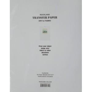 Inkjet Transfer Paper, dry iron-on