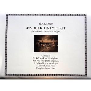 Bulk Tintype Kit 4x5