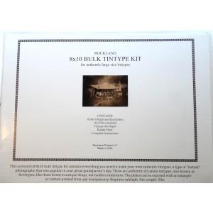 Bulk Tintype Kit 8x10