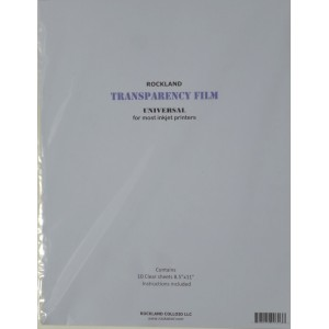 Transparency Film, Inkjet